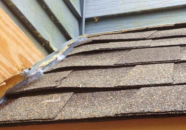 Roof     Poor maintenance