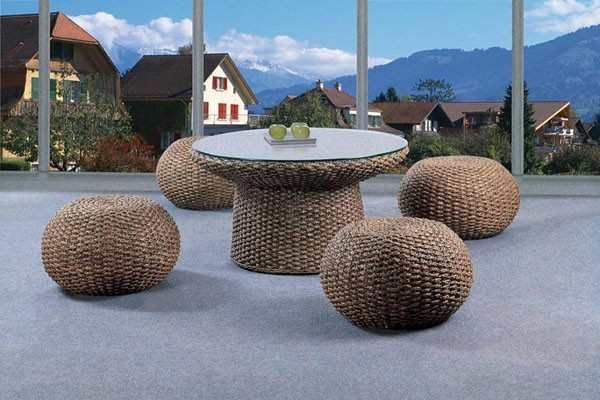 beautiful-wicker-furniture-interesting-modern-spherical-stool